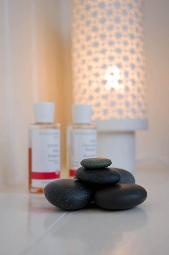 massage - stenen en olie